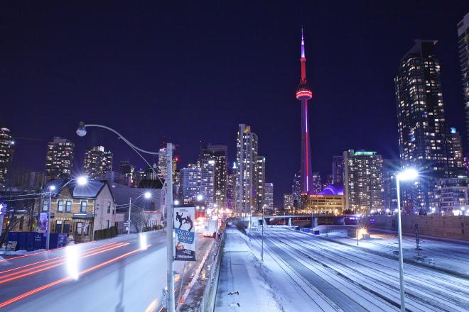 Toronto at night | Photo by Ryan Bolton