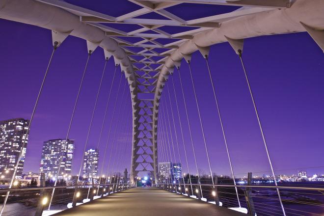 Humber Bridge Toronto Night